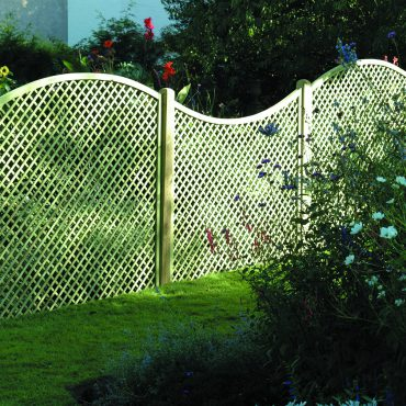 DIAMOND CONVEX LATTICE 160CM x 183CM DT14