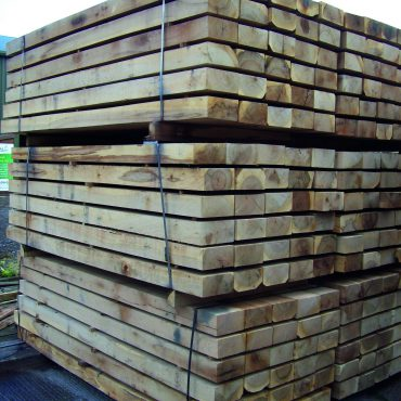 OAK SLEEPERS 100mm x 200mm x 2.4m